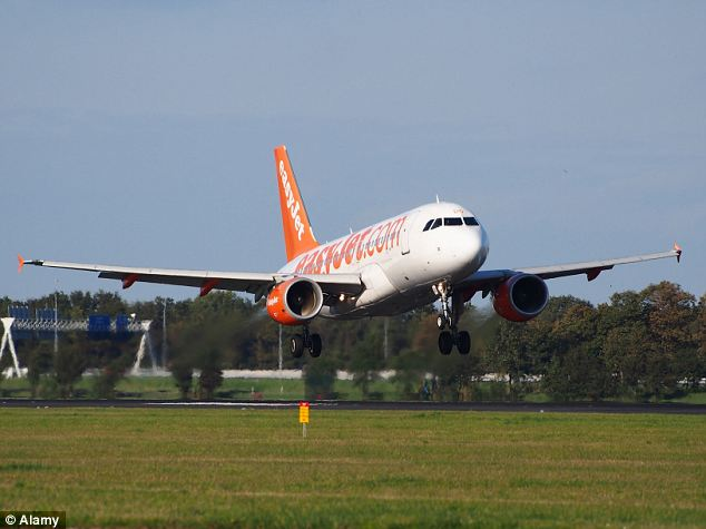 Drone boost: EasyJet said it is set to be the first airline to use drones to help do routine checks on its fleet.