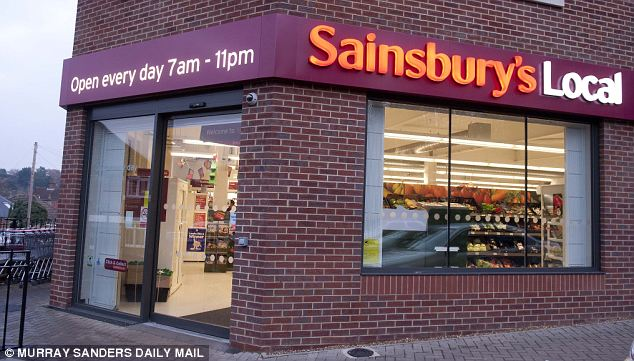 Convenience growth: Sainsbury's opened 91 new convenience stores over the year, taking their total above the number of supermarkets for the first time.