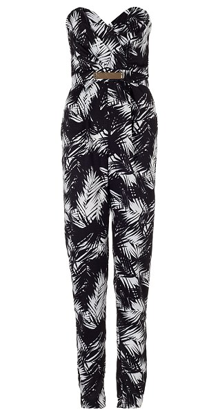 Jump to it: The girls are huge fans of jumpsuits so have ensured that there's plenty in the range, which is priced between £32-£85
