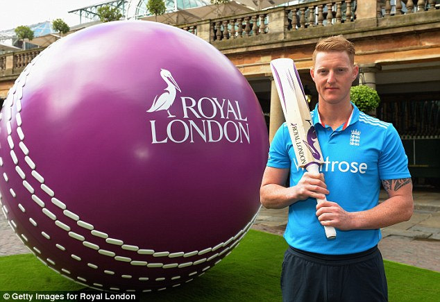 Championg: Ben Stokes is desperate to return to the game after his self inflicted wrist injury