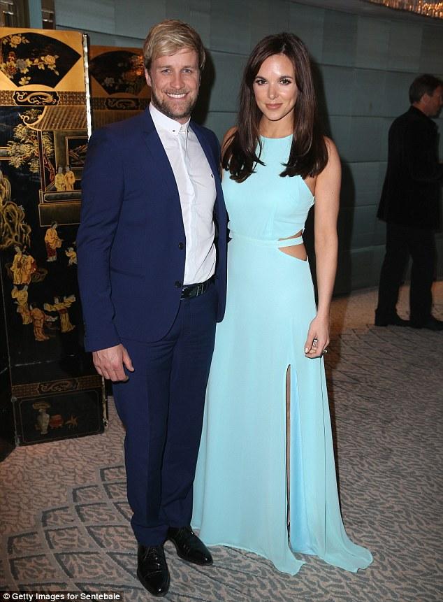 Westlife singer Kian Egan and wife Jodi Albert attend the Sentebale Summer Party