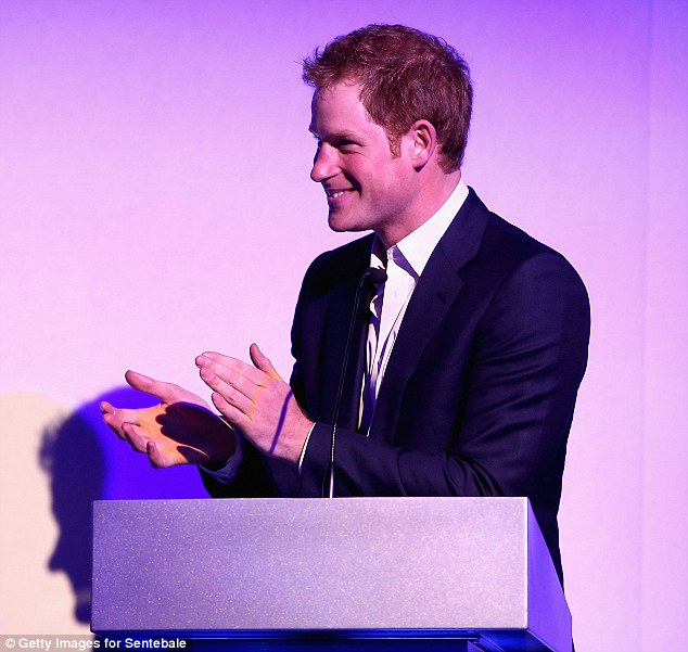 The charismatic prince addresses the crowds at the tenth celebrations for Sentebale. The organisation's name - chosen by Harry - is a poignant tribute to his late mother, Diana, Princess of Wales, who was killed in a car crash in 1997, and points to Harry's drive to ensure both the princess and the children of Lesotho are never forgotten