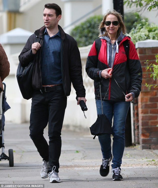 Toyboy: Carol, 54, who was previously married to fellow media personality Chris Evans from 1991-1998, has been engaged to Mark, who is more than 20 years her junior, since 2008
