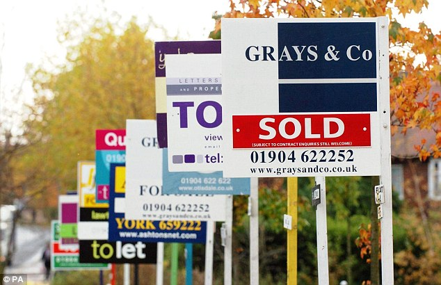 Heating up? Some estate agents are seeing ten potential buyers for every home coming to market, according to Rics