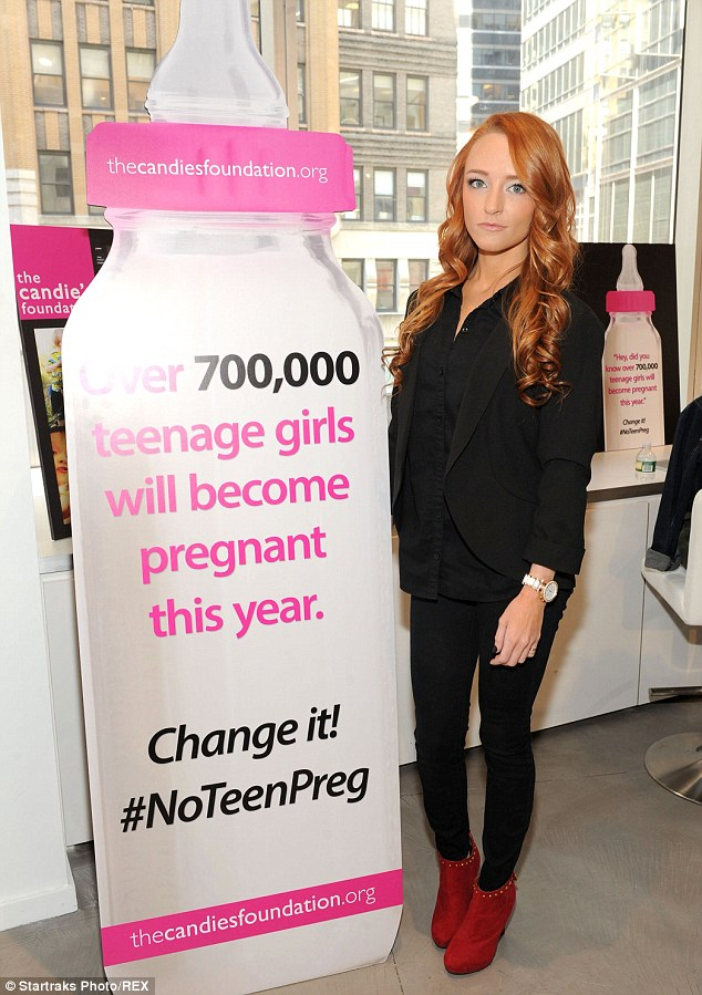 Advocate: This is not the first time the Teen Mom star has attended annual event