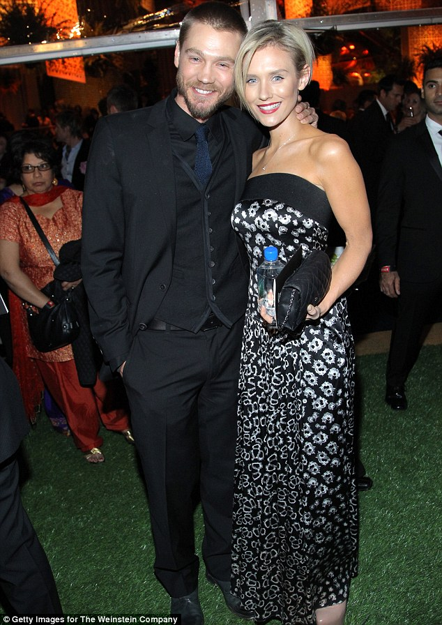 Lovebirds: Having been linked to three previous castmates, the One Tree Hill actor Chad Michael Murray fell for Whelan after they met on set