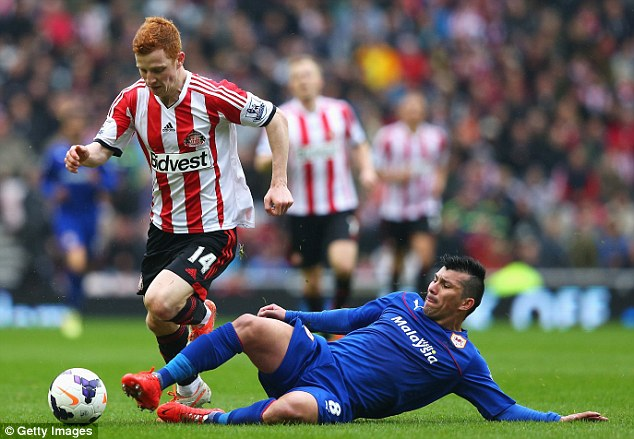 Turkish delight? Besiktas hope to persuade Cardiff's Gary Medel to join them in Turkey this summer