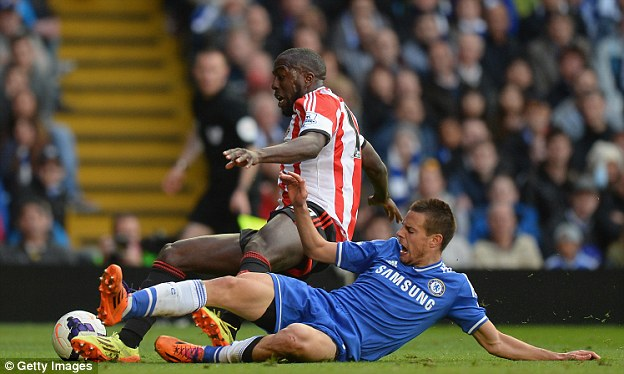 Down and out: American striker Jozy Altidore has failed to have much impact at Sunderland