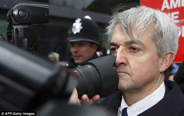 Former Energy Secretary Chris Huhne was forced to resign after being charged with giving his speeding points to his former wife Vicky Pryce