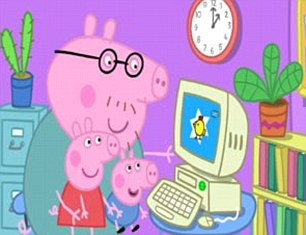 TV winner: Peppa Pig's huge success has delivered bumper returns for Entertainment One, which is one of Slater's top holdings.