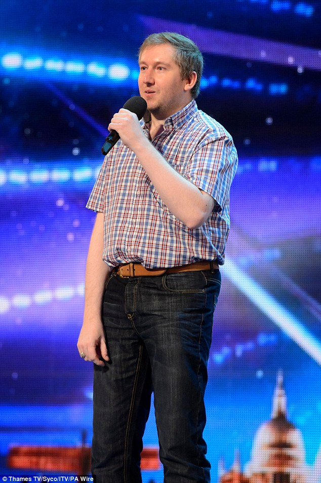 The other Simon: He tried to impress the judges with his version of When You Tell Me That You Love Me by Diana Ross