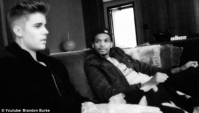 Talking about God: Justin Bieber and Brandon Burke chat about religion in The Pledge video