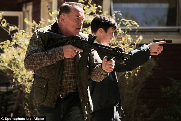 Sabotage is really just another opportunity for Arnie to flex his muscles, not his emotions