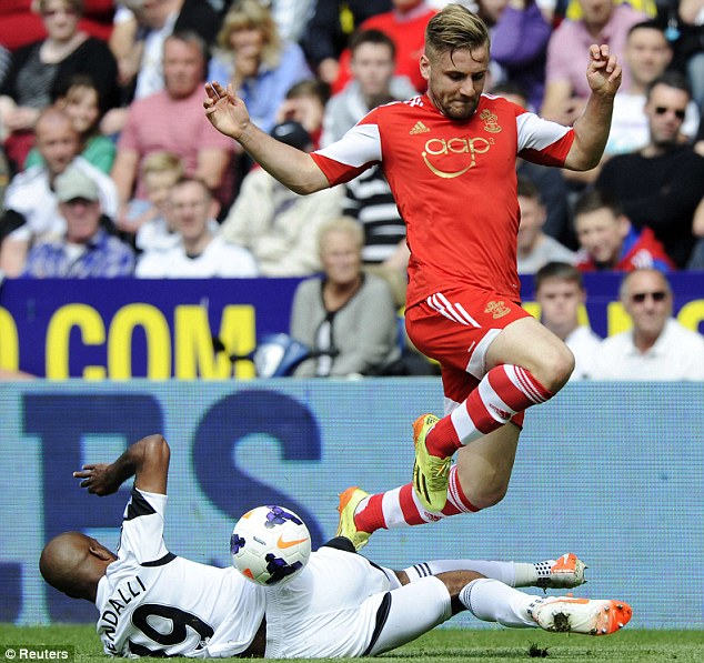 Skip to it: A World Cup call-up completes a rapid rise for Southampton youngster Shaw