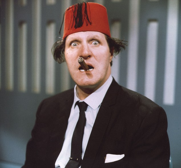 Funny man: Mr Valentine's one-liners were used by the late Tommy Cooper (pictured) several decades ago