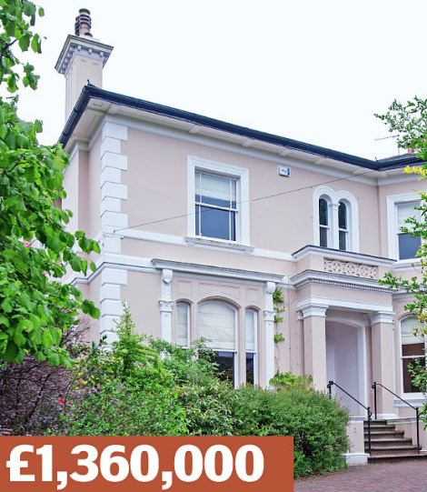 Frant Road, Tunbridge Wells, Kent: A detached Victorian villa covering  more than 4,200 sq ft, with four bedrooms and a half-acre garden