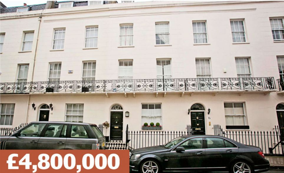 Gerald Road, London SW1W: A terraced townhouse five minutes' walk from Sloane Square's designer shops