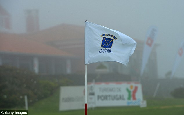 Problems: Fog has caused the tournament to be reduced to 54 holes, with a cut to 36 still a possibility
