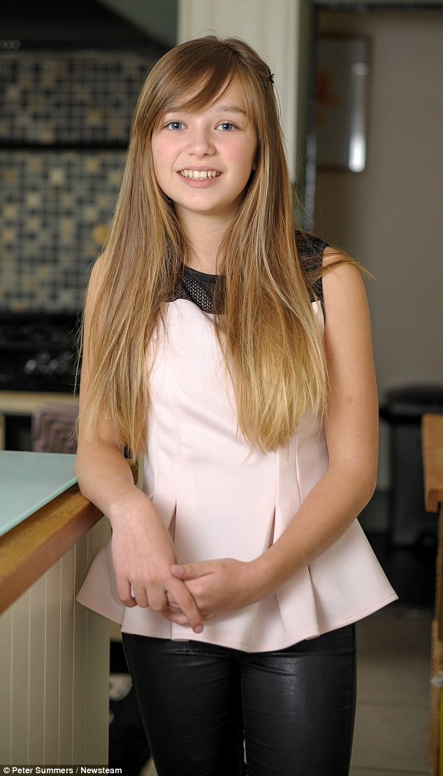 She's hit the big time: Former BGT star Connie Talbot, now 13, has become a star in Asia