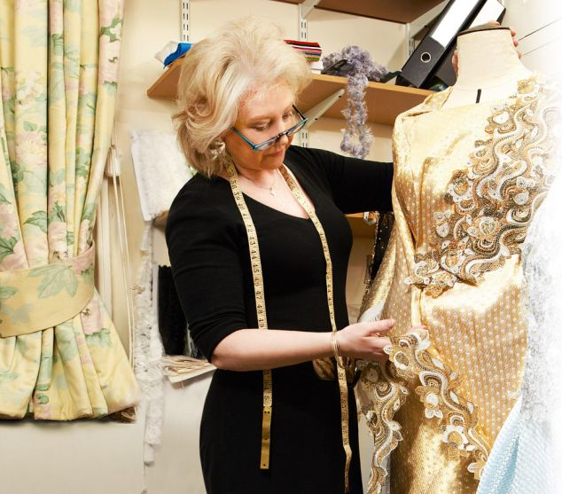 Today, [Mrs Kelly] is solely responsible for how the Queen looks in public, organising her wardrobe and liaising with dressmakers, and also, increasingly, designing her clothes as well