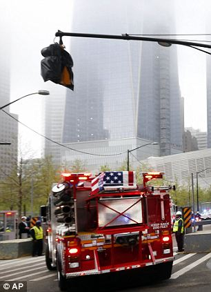 New resting place: The remains will now be stored in a special area of the memorial museum at the Ground Zero site which will still be run by the Office of the Medical Examiner