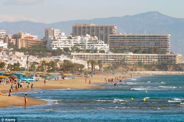 The family had been planning to spend the money they saved during a four-day trip to Torremolinos