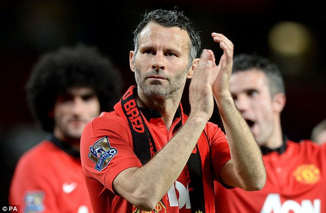 Conundrum: A Manchester United and Premier League legend, this could be Ryan Giggs' final game for the club