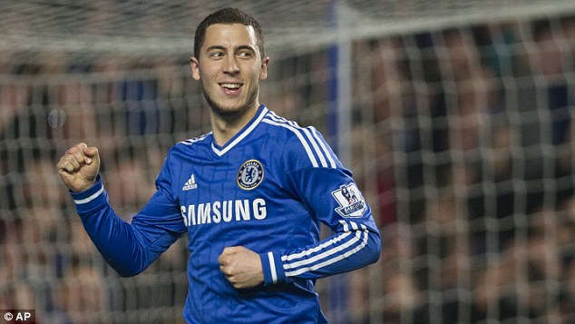 Forward: Hazard has been Chelsea's star performer this season, but is already looking ahead to next year