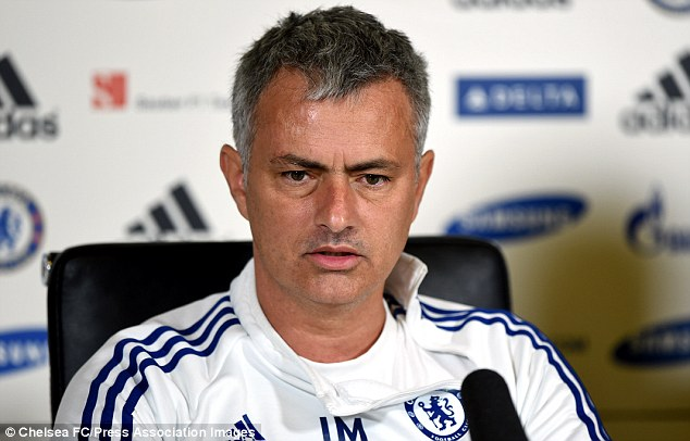 Pride: Jose Mourinho wants his players to perform and get a good result against the Bluebirds