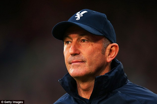 Ambitious: Crystal Palace manager Tony Pulis could leave the club this summer despite their success