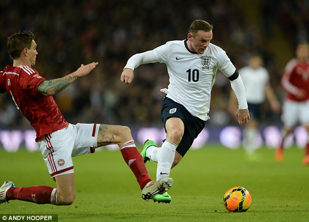 Been there, done that: Wayne Rooney is no stranger to World Cup heartbreak with England
