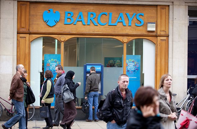 Problems: The bank suffered a revolt earlier this year, when a third of shareholders voted against raising bonuses by 10 per cent, despite a 30 per cent slump in profit