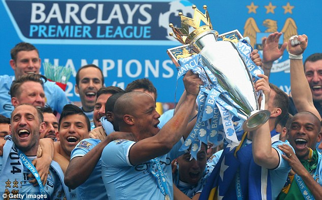 Busy: Fernandinho will now travel with Man City to Abu Dhabi before turning his attention to the World Cup