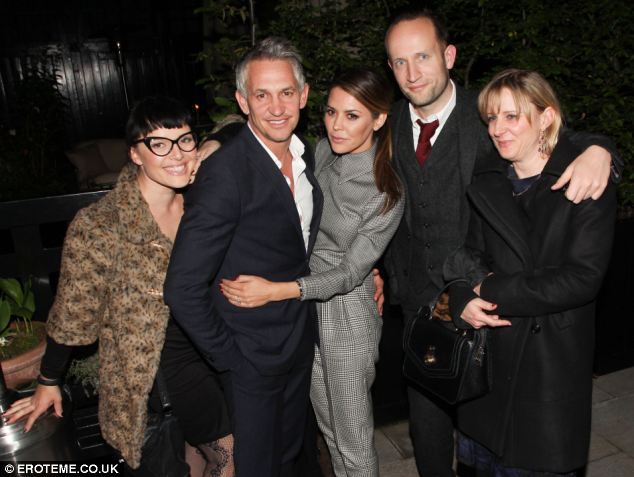 The Chiltern Firehouse also encompasses a hotel and club which has attracted the likes of Gary and Danielle Lineker (pictured leaving the club with friends)