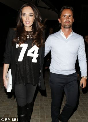 Tamara Ecclestone and Husband Jay Rutland seen leaving the Marylebone venue