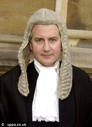 Dropped: David Cameron's brother, leading QC Alexander, successfully argued that cuts to legal aid limited access to fair justice - leading to a fraud trial being thrown out