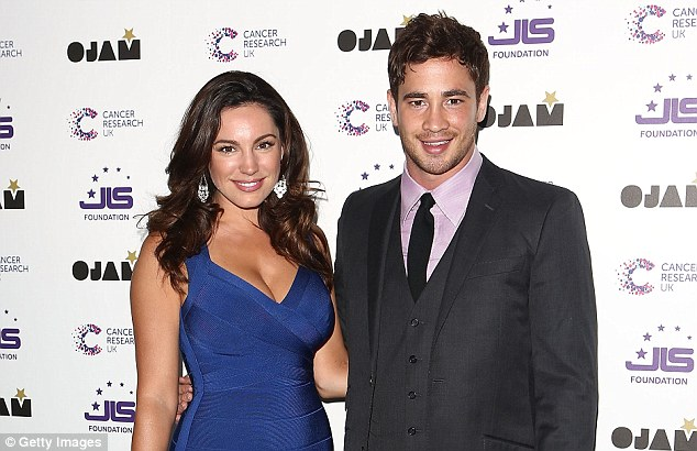 Limelight: Danny Cipriani had a much-publicised relationship with model Kelly Brook
