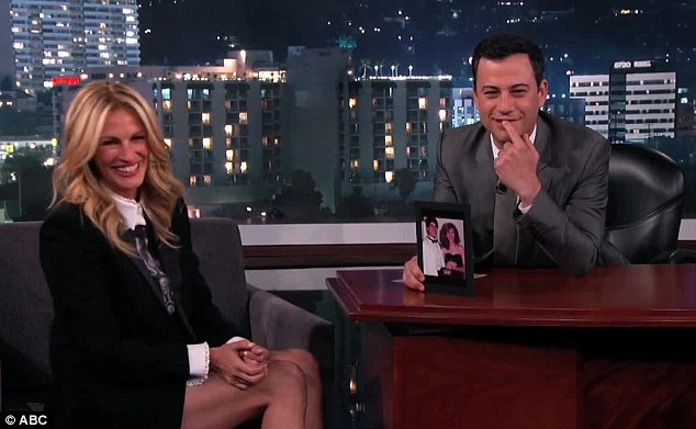 Throwback: The Mirror Mirror star was last seen this week appearing on Jimmy Kimmel Live to laugh over her high school prom photo