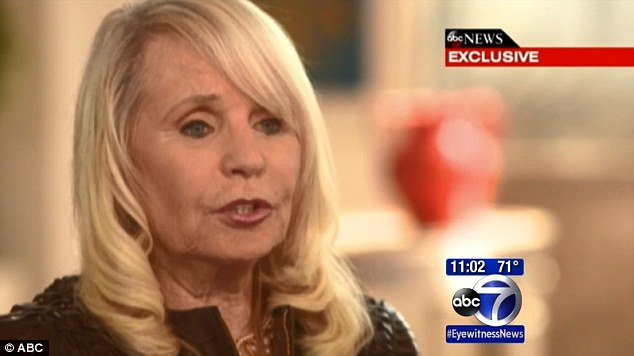 Defiant: Shelly Sterling insists she has rights to her half of the team despite the league saying otherwise