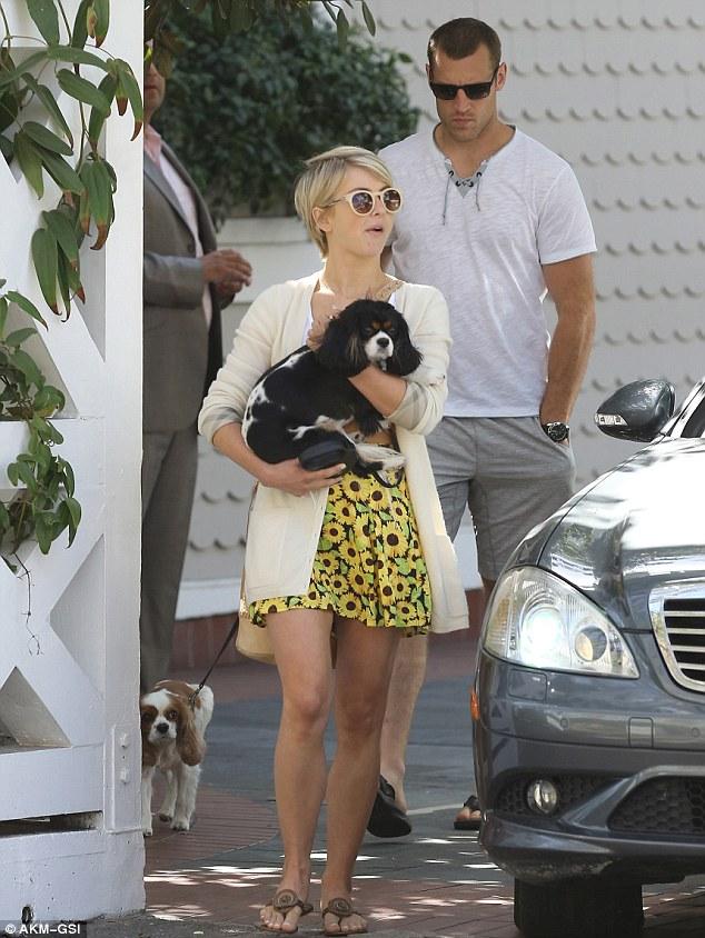 She likes them older: Julianne's beau is 30, as she is 25