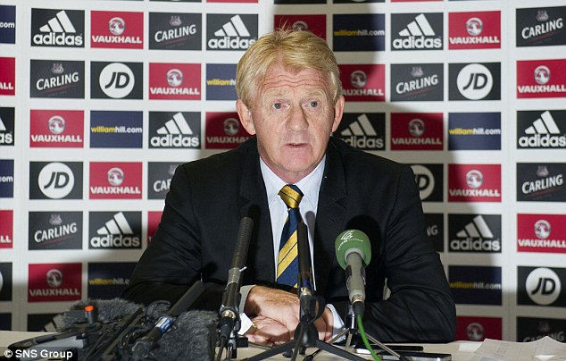 Here we go: Scotland manager Gordon Strachan announces his squad for the friendly match against Nigeria