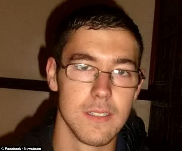 Matthew Read, 19, who is thought to have discovered the bodies of Hayley Stringer, 29 and her estranged husband David