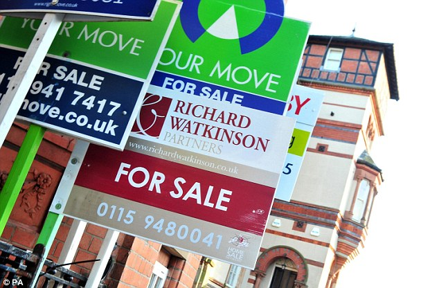 High demand: There are more buyers than properties on the market in most areas, boosting prices