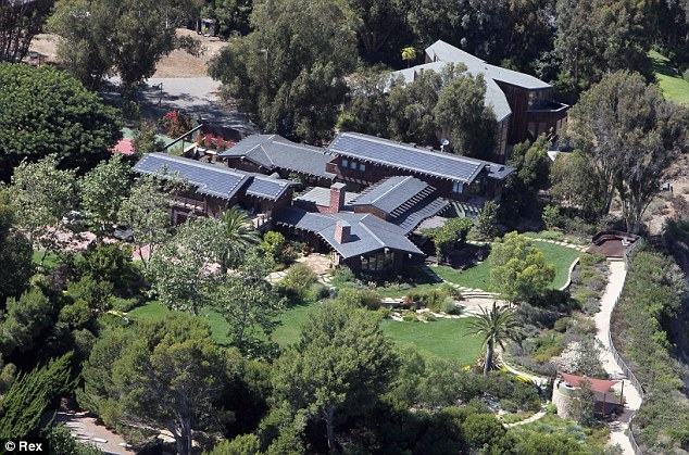 Lots of space! The 46-year-old Oscar winner lives at the eco-friendly, five-bedroom $9.5 million compound with her husband Danny Moder, their twins Phineas & Hazel, 9, and son Henry, who turns 7 next month