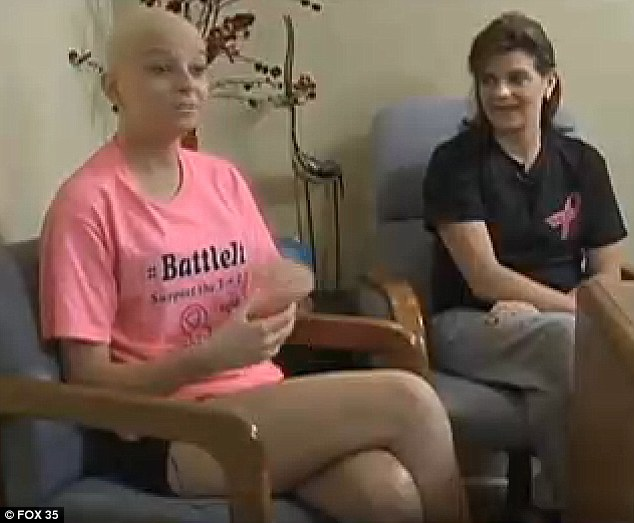 Emily said: 'Us both being diagnosed with breast cancer has brought us even closer. We go to every doctor's appointment and every chemotherapy session together. We're in it to the end'