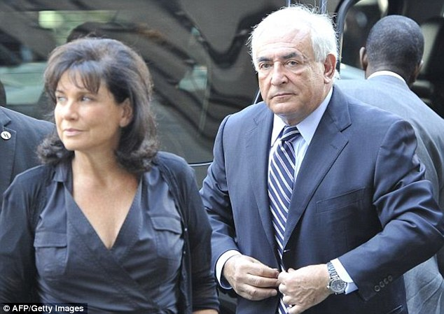 Biggest bond: 'But you should know. I believe in this man,' Dominique Staruss-Kahn's then wife Anne Sinclair told Judelson as she put up their Washington D.C home and cash as collateral for the massive $6 million bailout