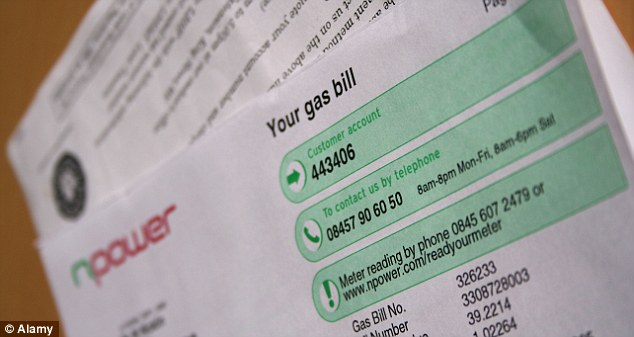Produced 'wrongly': Is anyone else at the end of their tether dealing with npower? (file picture)