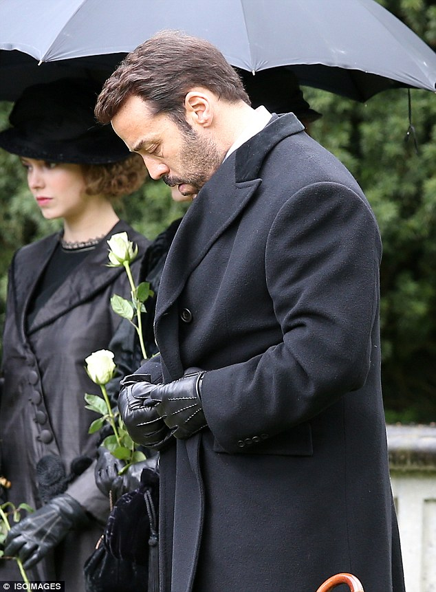 Death in the family: The third series of Mr Selfridge picks up after the death of his wife Rose