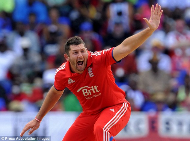 Return catch: Tim Bresnan has also been reinstated to the T20 and ODI squads