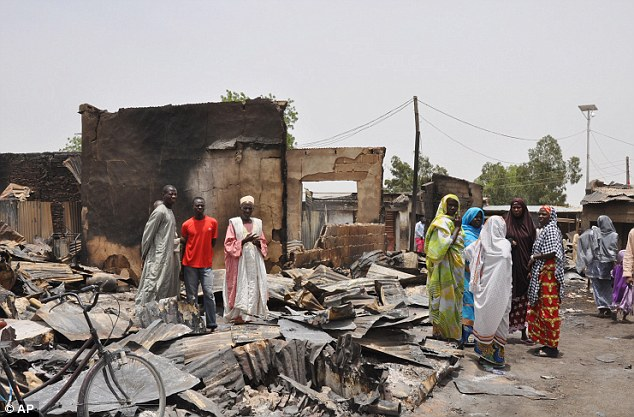 The fury and destruction wrought by last Monday's attack was unprecedented, with more than 1,000 shops, dozens of homes and 314 trucks and cars bombed and burned out in Gamboru